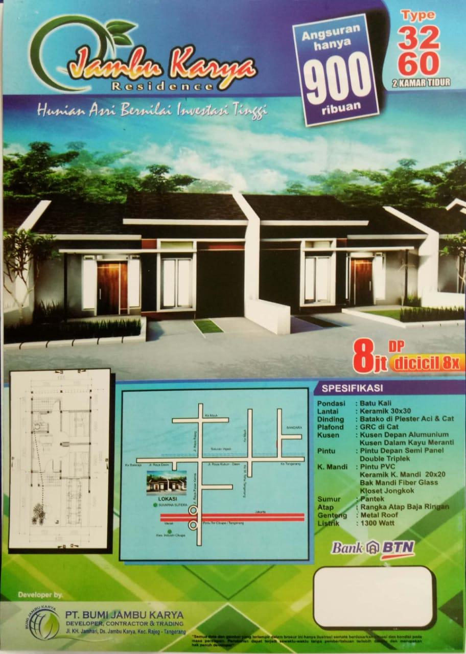 Rumah Subsisdi Jambu Karya Residence