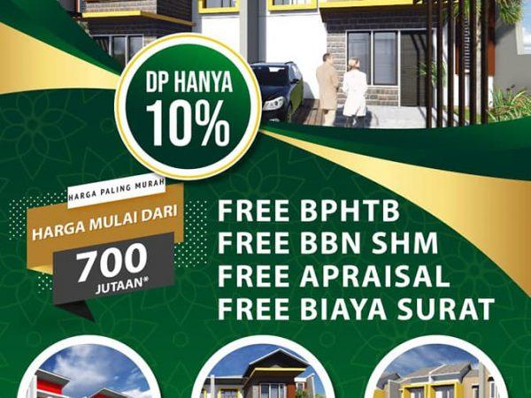 Rumah Modern 2 Lantai di Bogor Nirwana Residence yang Murah